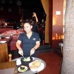 Excellent waitress