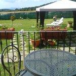 Giardino visto dalla terrazza