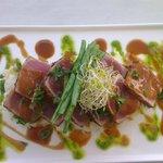 marinated tuna