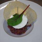Tartare de bœuf à l'italienne