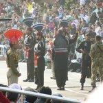 Border closing ceremony