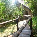 una casetta del Lodge