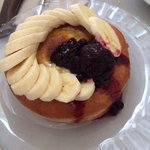 French Toast doughnut!! Sooo good if u have a sweet tooth!!!