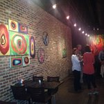 Bright Artistic Oil & Watercolors on the walls