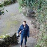 zigzag path down to lynmouth