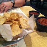 Free chips and salsa.