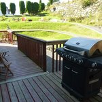 BBQ with large garden