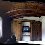 Vista completa de la Habitacion desde la cama matrimonial