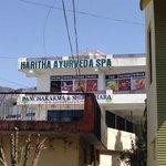 Ayurvedic spa on the top floor