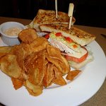 Baja Chicken Club with Housemade Chippers