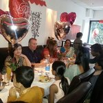 our regular guests celebrating a family occasion
