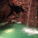 Indoor waterfall!