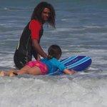Leçon de surf à playa bonita