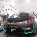 car showroom in champs elysees