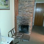 Fireplace ( aesthetic purposes only)