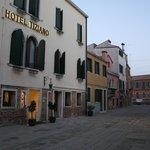 Hotel Tiziano (da fuori)