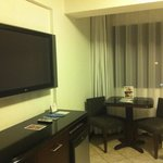 Our flat screen in the room
