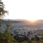 Gondar town from the lodge