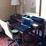 Large desk/work area