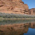 Colorado River in the Glen Canyon