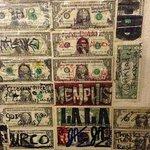 Leave a dollar bill on their wall.