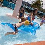Fun in the Fountain Pool