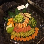 In suite fruit plate