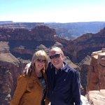 Bighorn Hummer Tours, enjoying views of the Grand Canyon