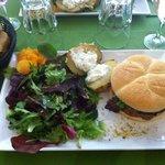 Burger foie gras!