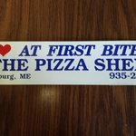 Pizza Shed Bumper Sticker