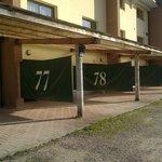Parcheggio esterno a uso Motel
