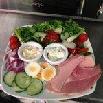 A famous Albany ham salad