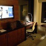 Bureau et télé