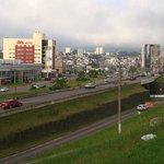 Ibis Hotel desde a passarela do Shopping Iguatemi