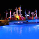 Waterpark by night