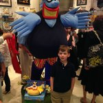 Blue Meanie from Yellow Submarine at the Beatle's Love Store