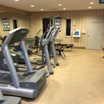Fitness center treadmills, elliptical