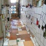 Interior of toilets