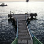 dock, ideal for sun bath and fishing
