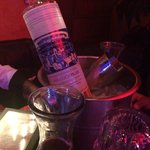 Vodka sur la table