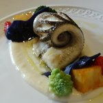 Beautiful fish - part of the lunch menu