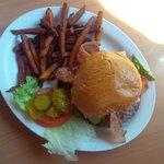 Bacon Avocado Swiss Burger