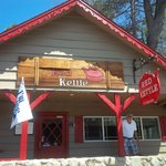 Exterior of Red Kettle