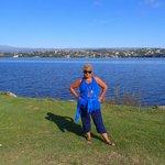 caminata al lago