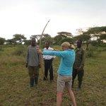 Bow and arrow training