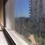Second floor window
