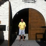 Entrance to the wine cave