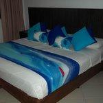 cama 3 pl + 1 de 1 pl, excelente vista al mar. 8vo piso