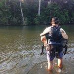 Cruzando Rio Claro