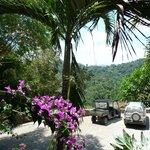 Lodge entrance view